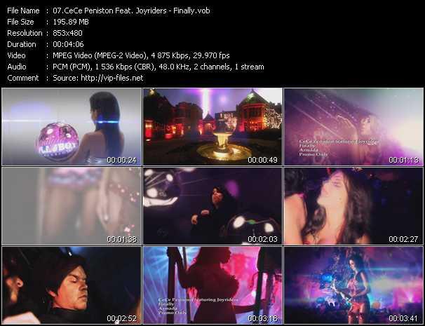 Ce Ce Peniston Feat. Joyriders video screenshot
