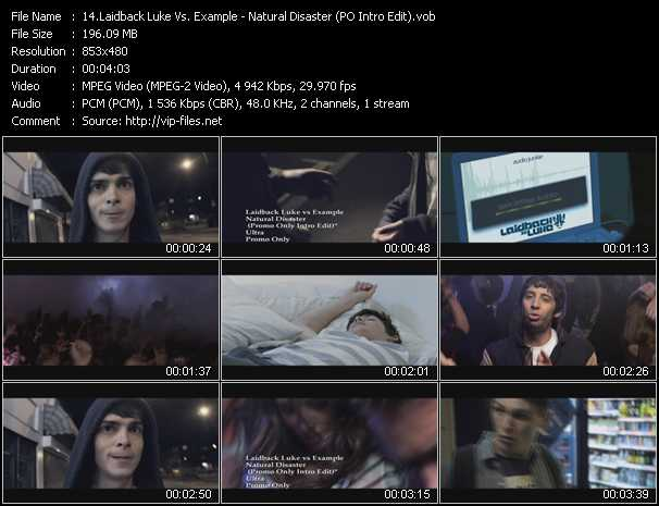 Laidback Luke Vs. Example video screenshot