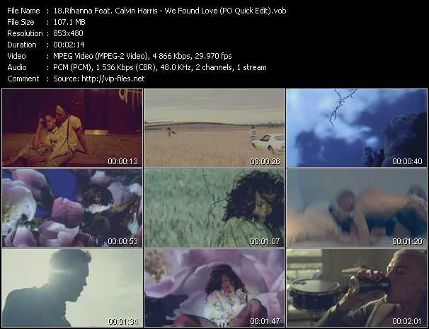Rihanna Feat. Calvin Harris video screenshot