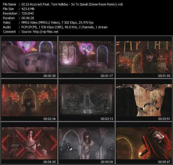 Dj Acucrack Feat. Toni Halliday video screenshot