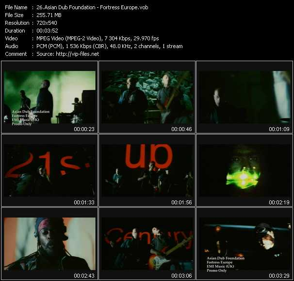 Asian Dub Foundation video screenshot
