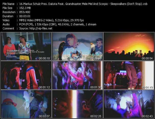 Markus Schulz Pres. Dakota Feat. Grandmaster Mele Mel And Scorpio video screenshot