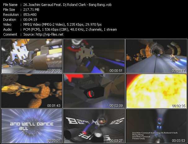 Joachim Garraud Feat. Dj Roland Clark video screenshot