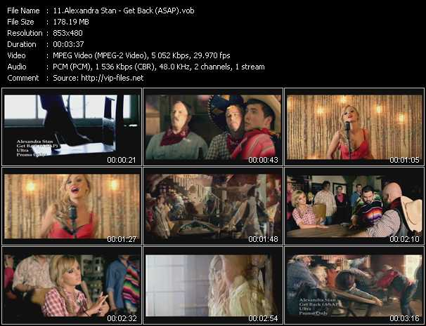 Alexandra Stan video screenshot