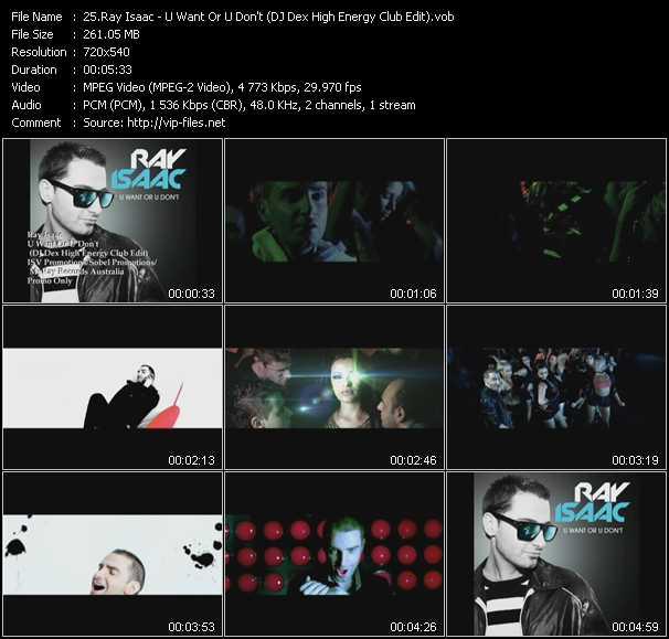 Ray Isaac video screenshot