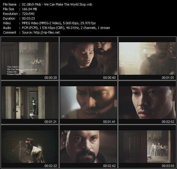 Glitch Mob video screenshot