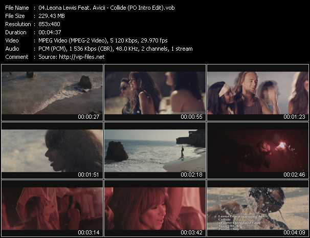 Leona Lewis Feat. Avicii video screenshot