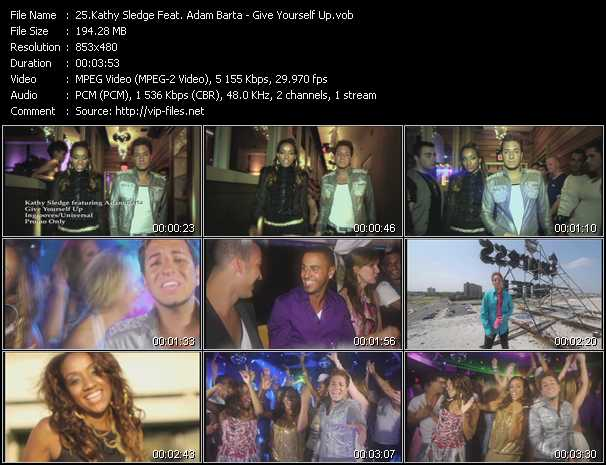 Kathy Sledge Feat. Adam Barta video screenshot
