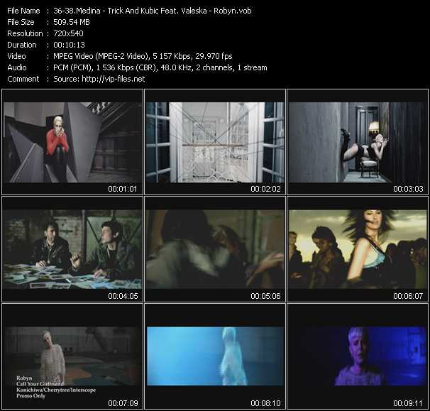 Medina - Trick And Kubic Feat. Valeska - Robyn video screenshot