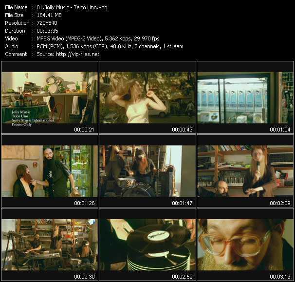Jolly Music video screenshot