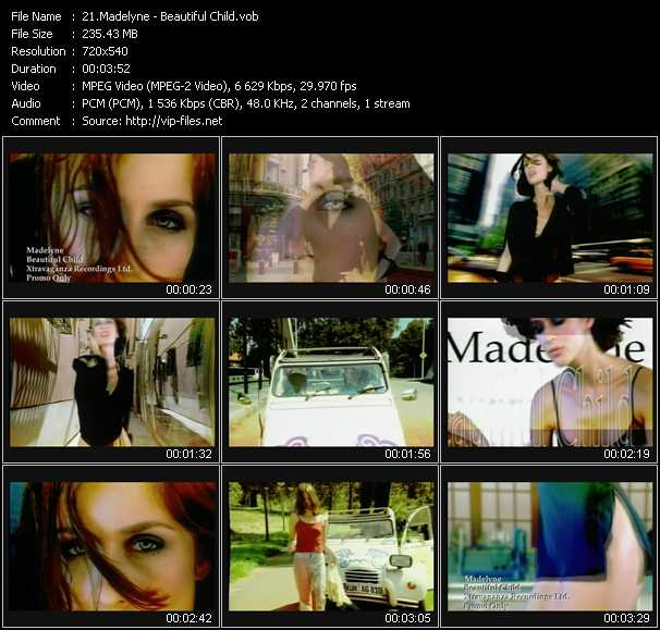 Madelyne video screenshot