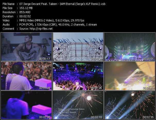 Serge Devant Feat. Taleen video screenshot