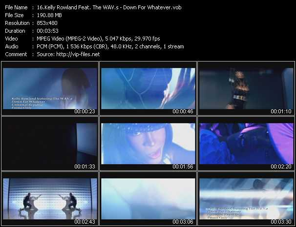 Kelly Rowland Feat. The Wav.S video screenshot