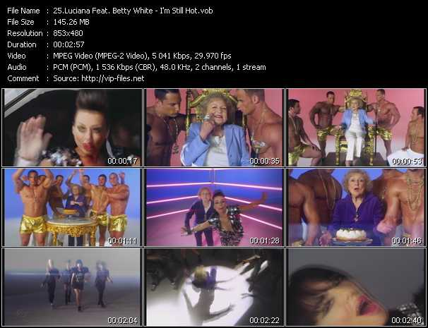Luciana Feat. Betty White video screenshot