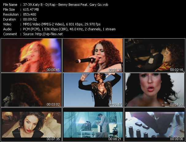 Katy B - Dj Rap - Benny Benassi Feat. Gary Go video screenshot