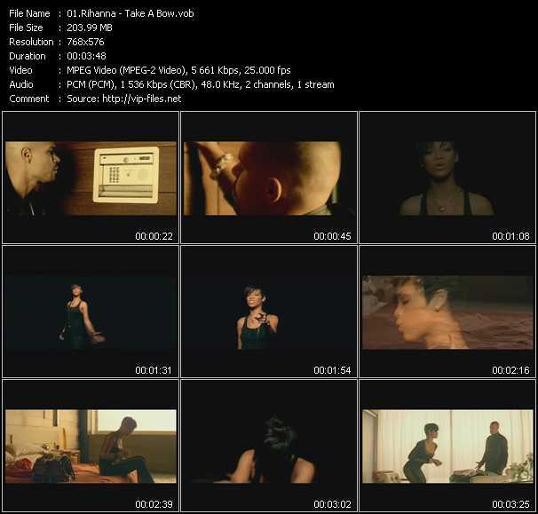 Rihanna video screenshot