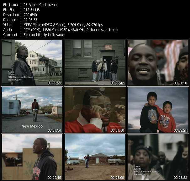 video Ghetto screen