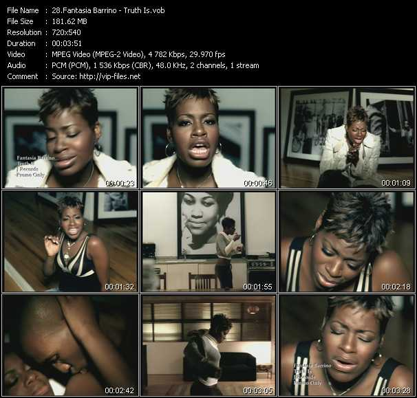 Fantasia Barrino video screenshot