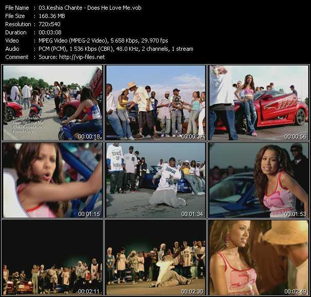 Keshia Chante video screenshot