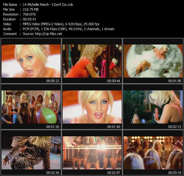 Michelle Marsh video screenshot