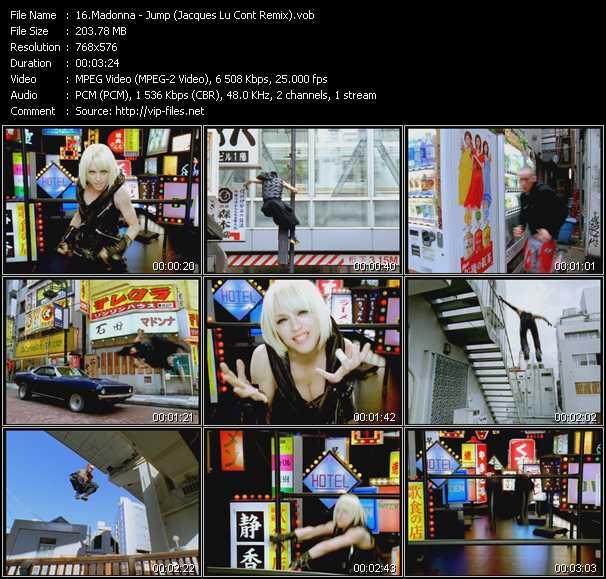 video Jump (Jacques Lu Cont Remix) screen