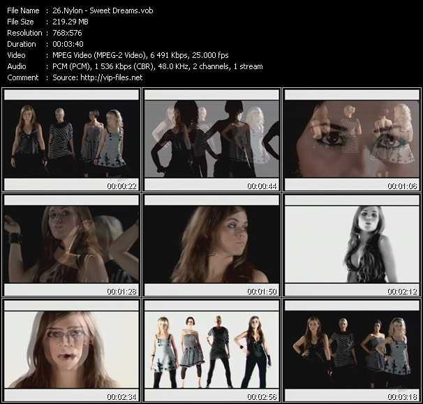 Nylon video screenshot