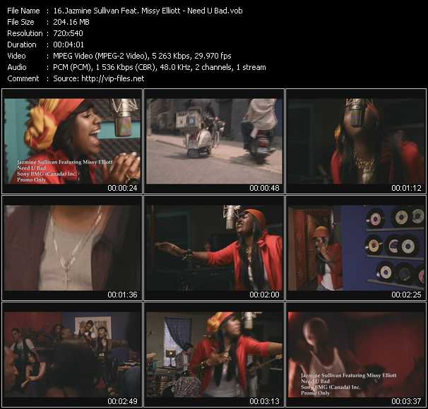 Jazmine Sullivan Feat. Missy Elliott video screenshot