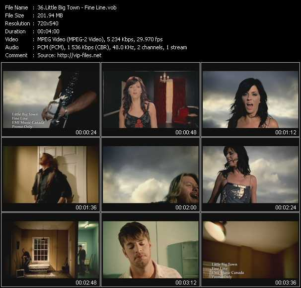 Little Big Town video screenshot