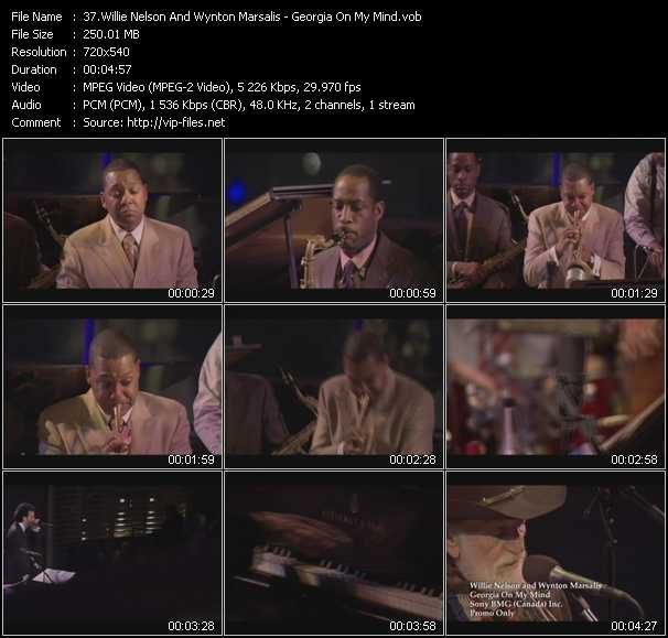 Willie Nelson And Wynton Marsalis video screenshot