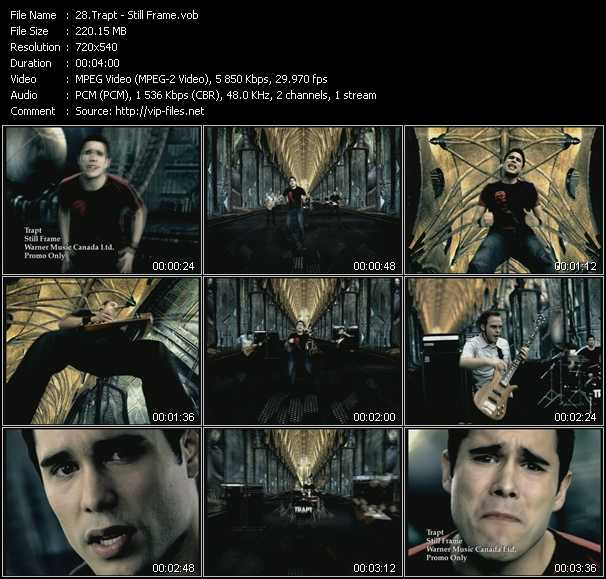 Trapt video screenshot