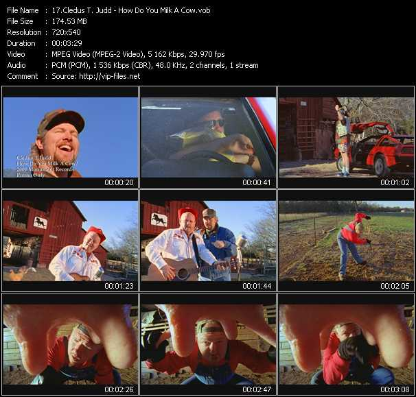 Cledus T. Judd video screenshot