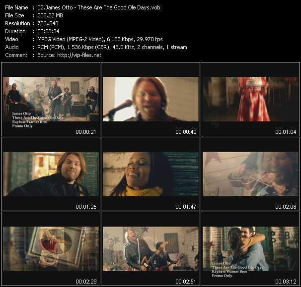 James Otto video screenshot