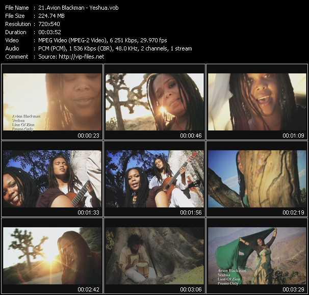 Avion Blackman video screenshot
