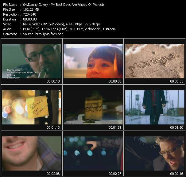 Danny Gokey video screenshot