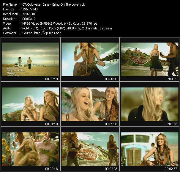 Coldwater Jane video screenshot