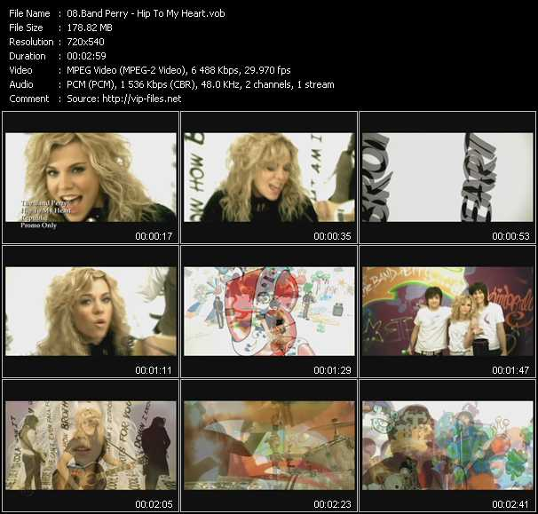 Band Perry video screenshot