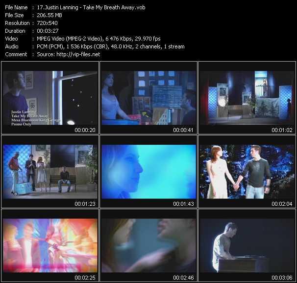 Justin Lanning video screenshot