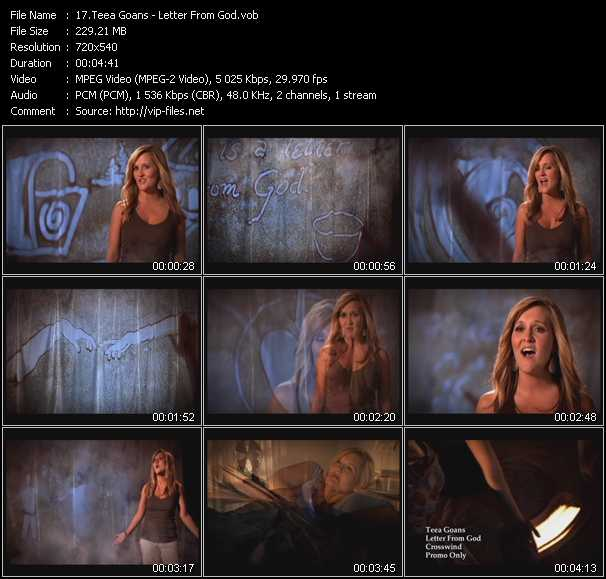 Teea Goans video screenshot
