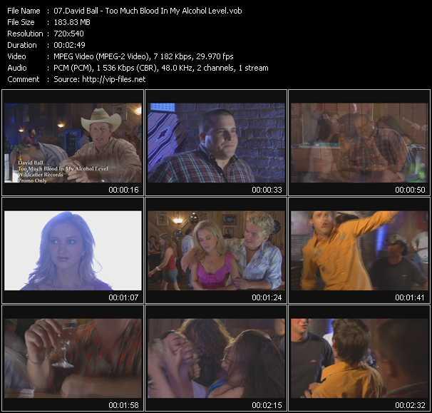 David Ball video screenshot