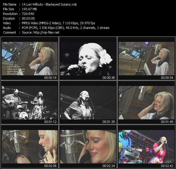 Lori Willcuts video screenshot