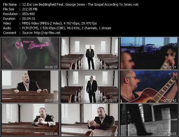 Eric Lee Beddingfield Feat. George Jones video screenshot
