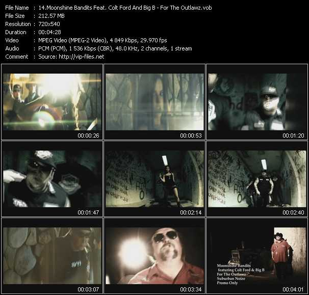 Moonshine Bandits Feat. Colt Ford And Big B video screenshot