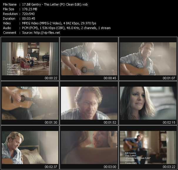Bill Gentry video screenshot
