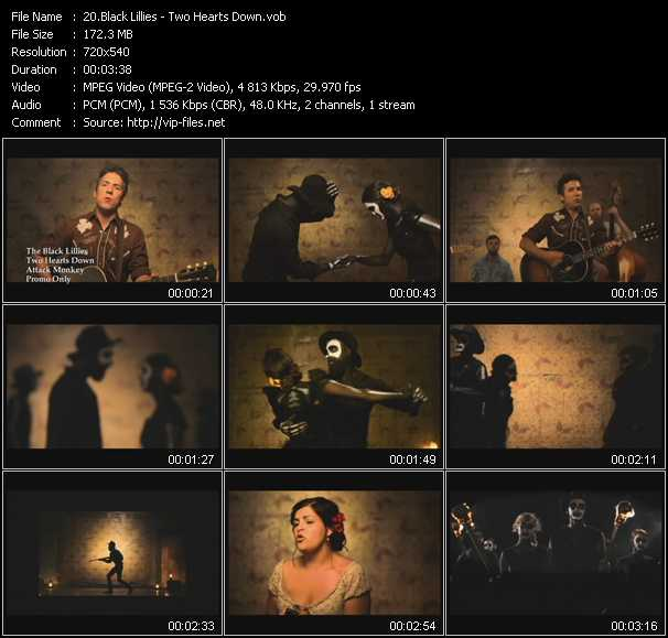 Black Lillies video screenshot
