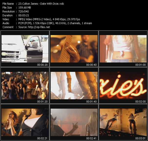 Colton James video screenshot