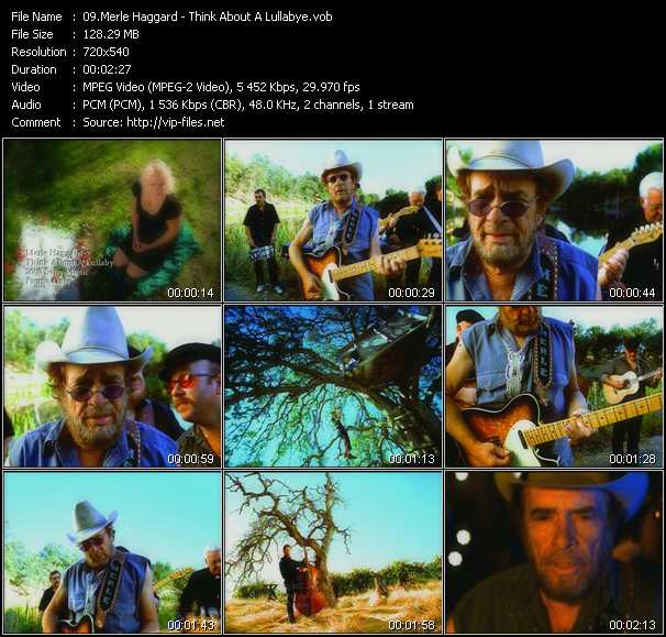 Merle Haggard video screenshot