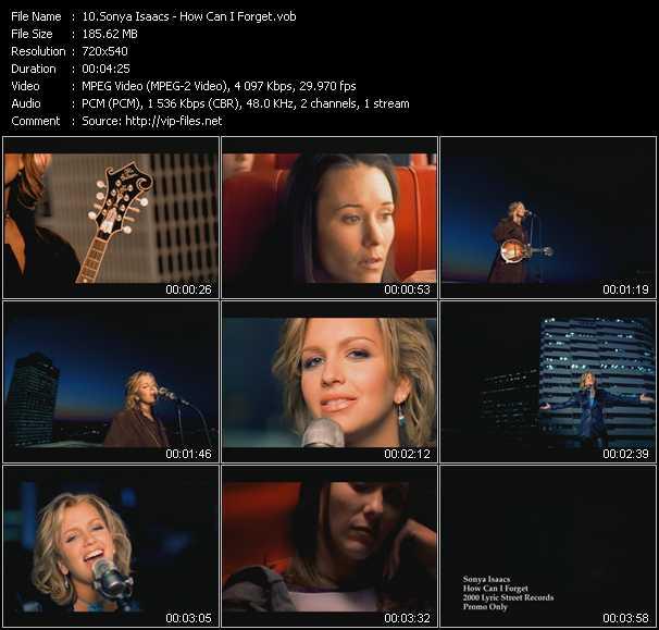 Sonya Isaacs video screenshot