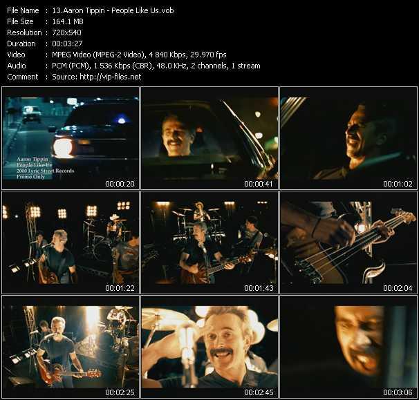 Aaron Tippin video screenshot
