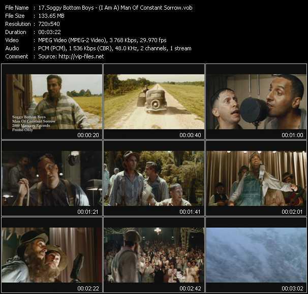 Soggy Bottom Boys video screenshot