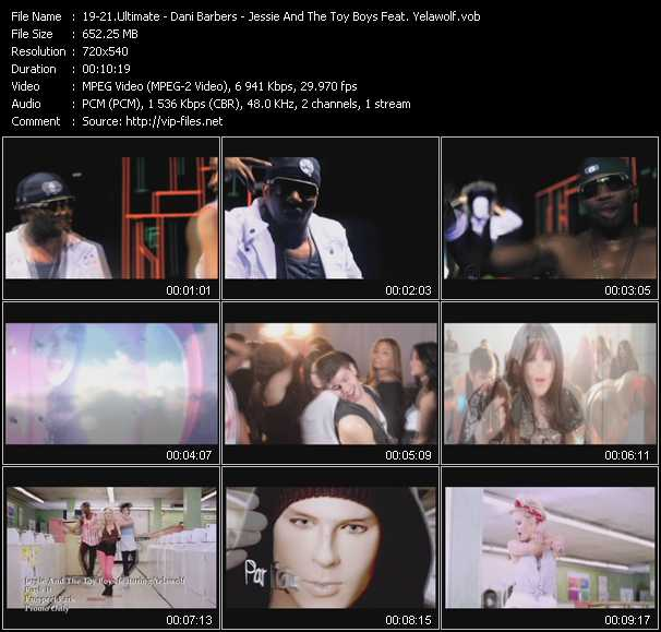 Ultimate - Dani Barbers - Jessie And The Toy Boys Feat. Yelawolf video screenshot